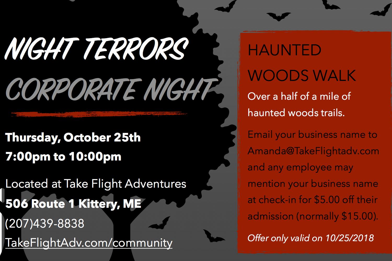 Night Terrors Corporate Night