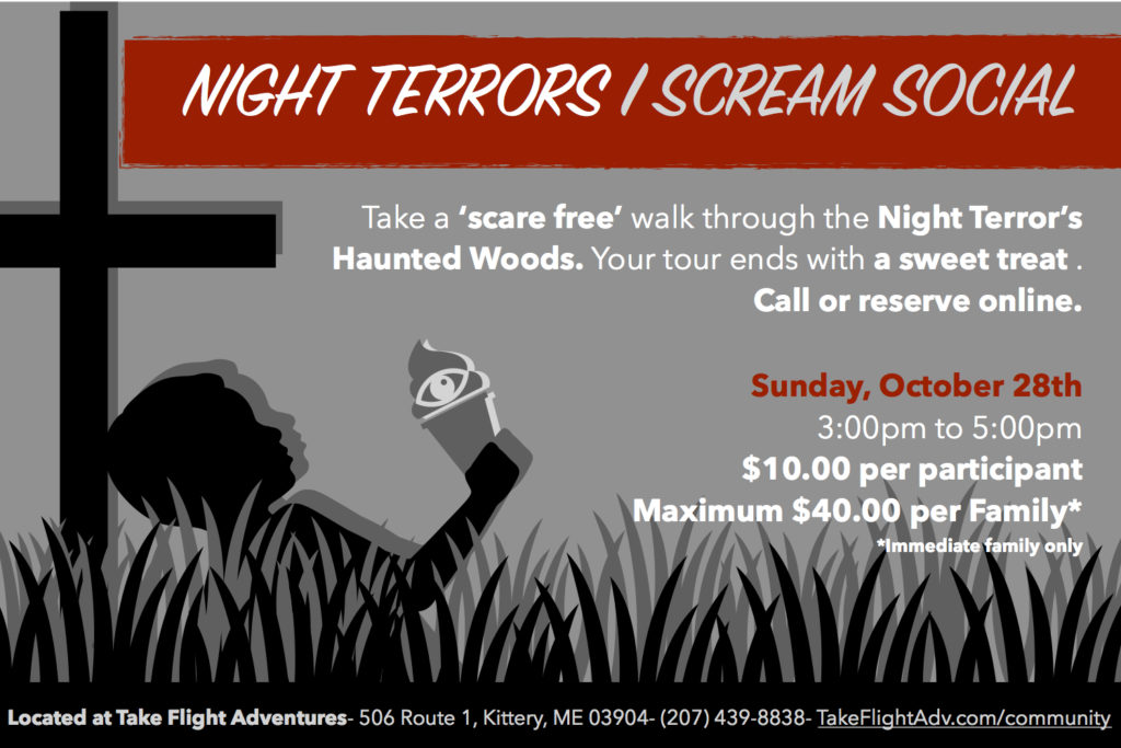 Night Terrors Eye Scream Social